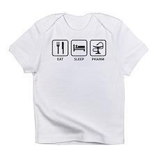 Eat Sleep Pharm Infant T-Shirt