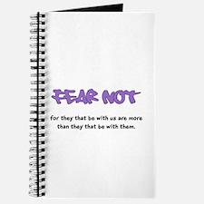 Fear Not - purple Journal