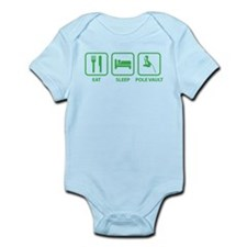 Eat Sleep Pole Vault Infant Bodysuit