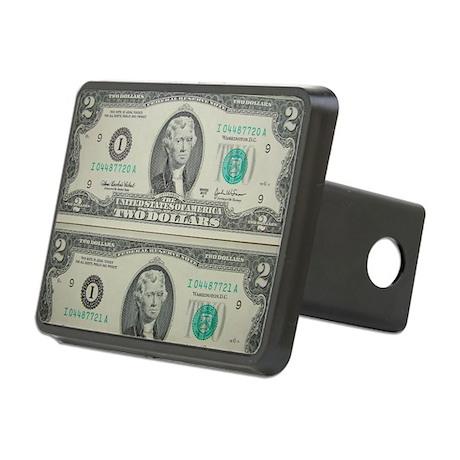 FOUR DOLLARS™ Rectangular Hitch Cover
