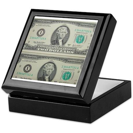 FOUR DOLLARS™ Keepsake Box