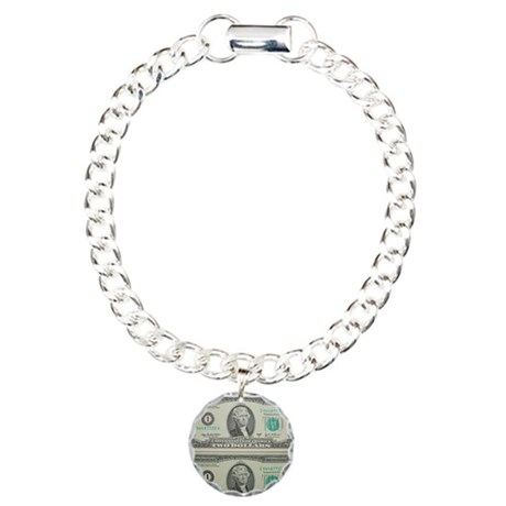 FOUR DOLLARS™ Charm Bracelet, One Charm