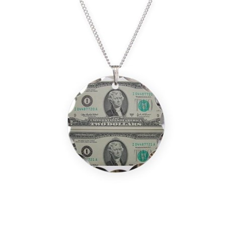 FOUR DOLLARS™ Necklace Circle Charm