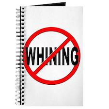 Anti / No Whining Journal