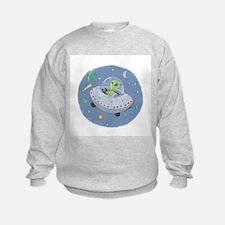 Little Green Alien Sweatshirt