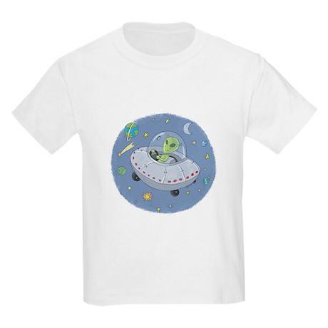 Little Green Alien Kids T-Shirt