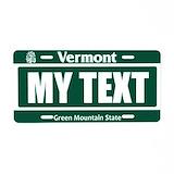 Vermont License Plates