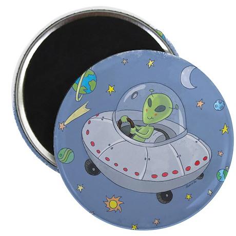 Little Green Alien Magnet