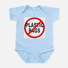 Anti / No Plastic Bags Infant Bodysuit