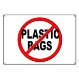 Anti plastic Banners