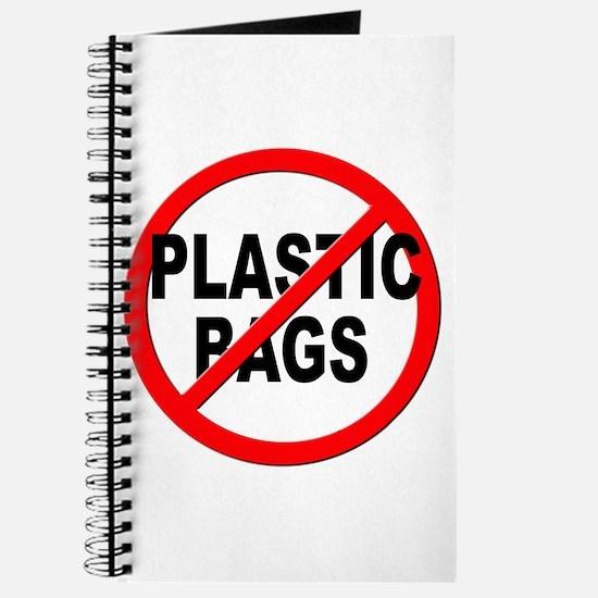 Anti / No Plastic Bags Journal