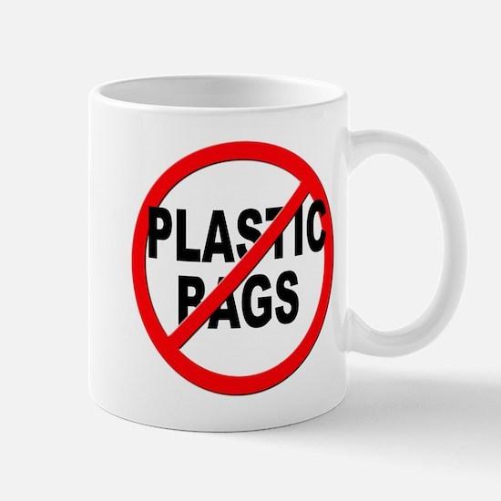 Anti / No Plastic Bags Mug