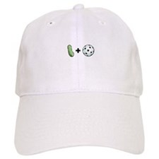 Pickle + Ball Baseball Cap