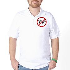 Anti / No Plastic Bags T-Shirt