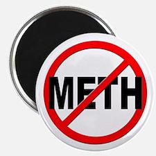 "Anti / No Meth 2.25"" Magnet (100 pack)"
