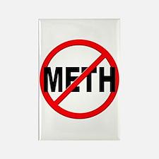 Anti / No Meth Rectangle Magnet