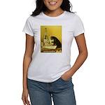 Absinthe Bourgeois Chat Noir Women's T-Shirt