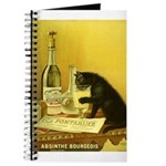 Absinthe Bourgeois Chat Noir Journal