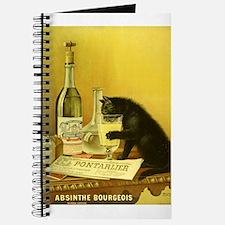 Absinthe Bourgeois Chat Noir Journal