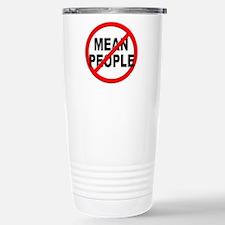 Anti / No Mean People Travel Mug