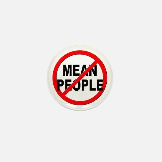 Anti / No Mean People Mini Button