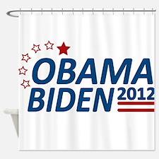 Vote Obama Biden 2012 Shower Curtain