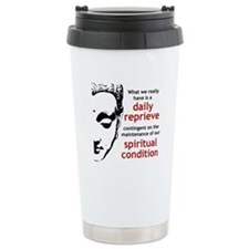 Spiritual Condition Travel Coffee Mug
