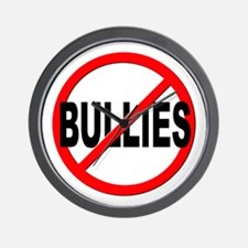 Anti / No Bullies Wall Clock