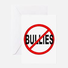 Anti / No Bullies Greeting Card