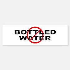 Anti / No Bottled Water Sticker (Bumper)