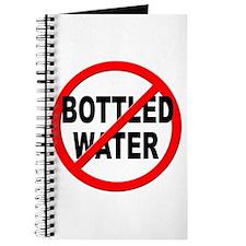 Anti / No Bottled Water Journal