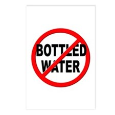 Anti / No Bottled Water Postcards (Package of 8)