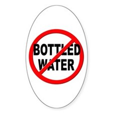 Anti / No Bottled Water Decal