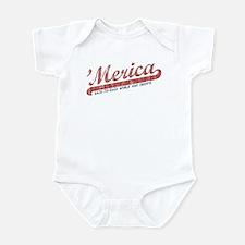Vintage Team 'Merica 2 Infant Bodysuit