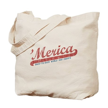 Vintage Team 'Merica 2 Tote Bag