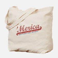 Vintage Team 'Merica 2 Tote Bag