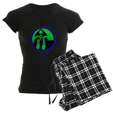 Aleister Crowley Women's Dark Pajamas