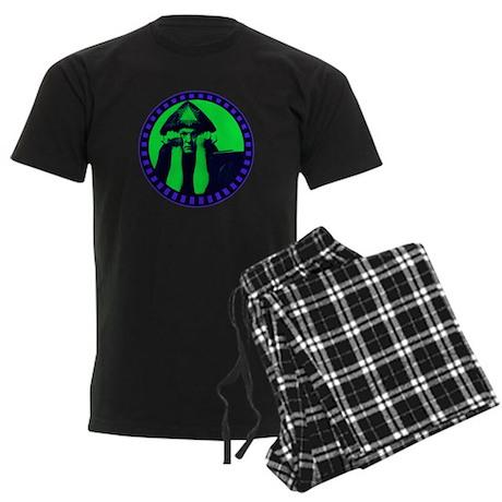 Aleister Crowley Men's Dark Pajamas