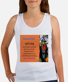 Halloween Witch Spells Women's Tank Top