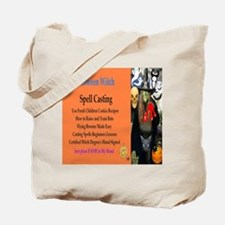 Halloween Witch Spells Tote Bag