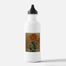 Chrysanthemum - Anon - 1890 Water Bottle