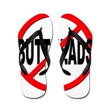 Anti / No Buttheads Flip Flops