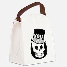 NOLA Skull Tatoo Canvas Lunch Bag