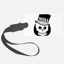 NOLA Skull Tatoo Luggage Tag