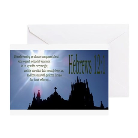 Great Cloud of Witnesses Greeting Cards (Pk of 20)