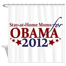 Moms for Obama 2012 Shower Curtain