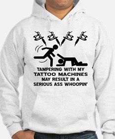 Tampering With My Tattoo Hoodie