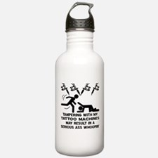 Tampering With My Tattoo Water Bottle