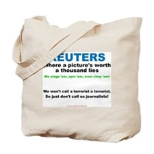 Anti- Reuters Tote Bag
