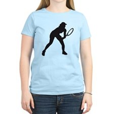 female tennis player T-Shirt